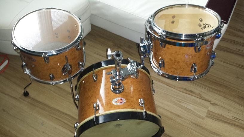 Classy DIY Mini Bop Drum Kit