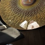 Patch and crack ground Repair Cracked Cymbals