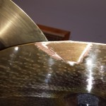 and smoothed - Repair Cracked Cymbals