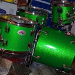 Lean Green Beat Machine DIY Compact Drum Kit