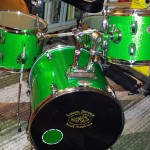 Green! DIY Compact Drum Kit