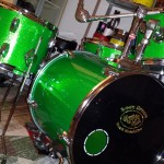 DIY Compact Drum Kit, Lean Green Beat Machine