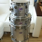 Floor tom finished DIY Bop Drum Kit Restomization