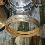 New Hoop Inlays DIY Bop Drum Kit Restomization