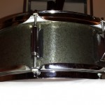 Assembled snare drum