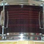 Wrapped Steel Snare Drum