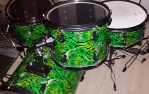 DIY Mini Bop Snake Skin Drum Kit