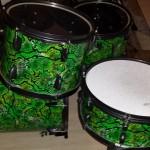 DIY Mini Bop Snake Skin Drum Kit