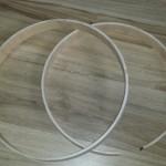 Sanded even - DIY Wood Hoops