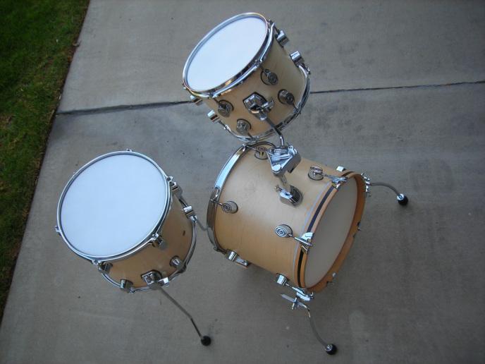 Diy Cafe Drum Kit Compactdrums