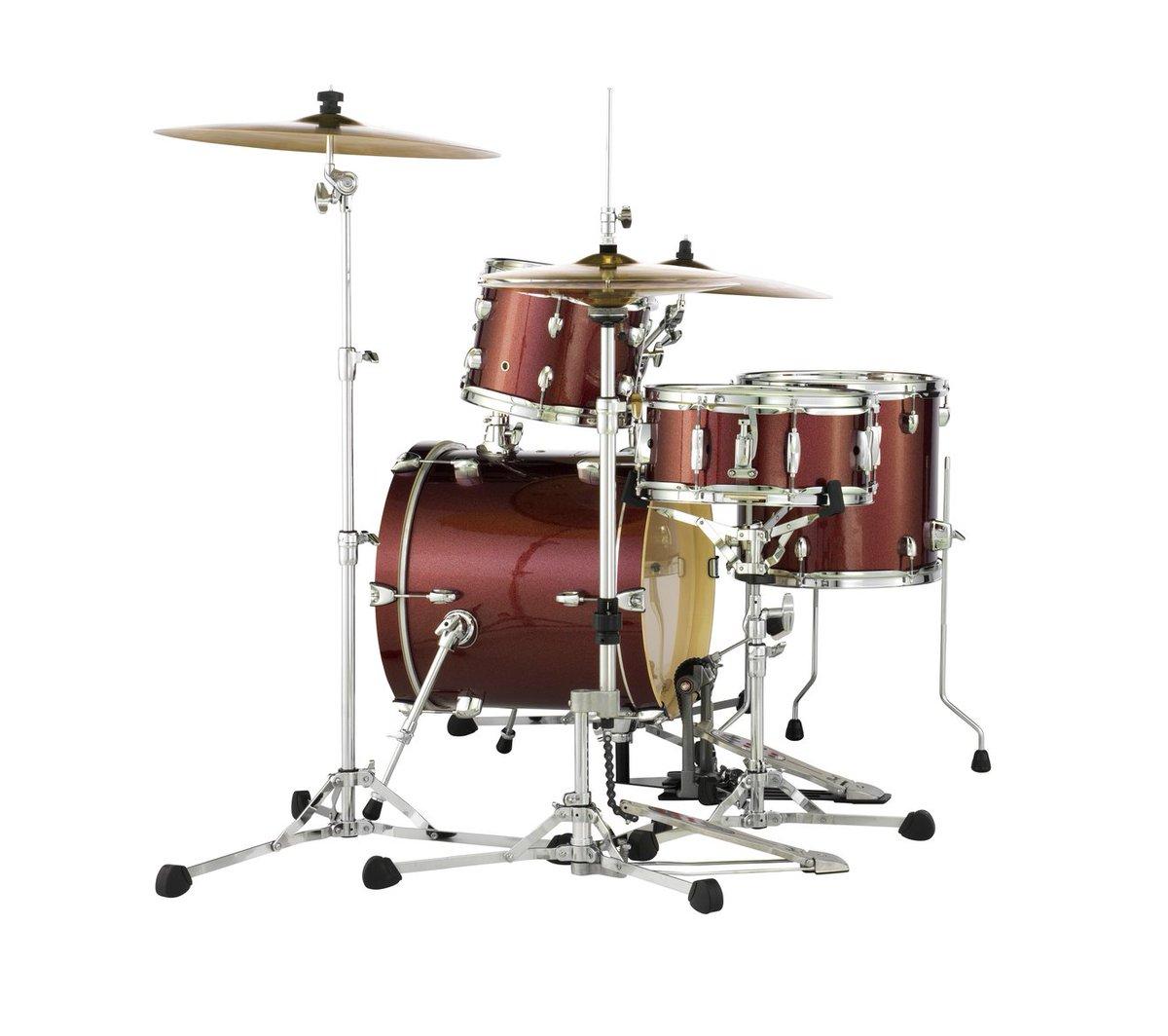 Detailed Pearl Midtown Review Compactdrums 1 Set Drum